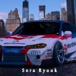 Artstation Nissan Silvia S15 Worthouse Drift Team Sora Ryuuk