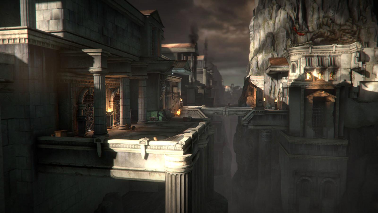 Artstation God Of War 3 Environment Art Nate Stephens