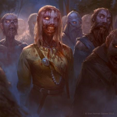 human zombie horde