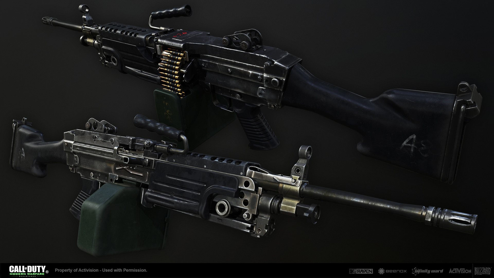 Call Of Duty: Modern Warfare Remastered Weapons