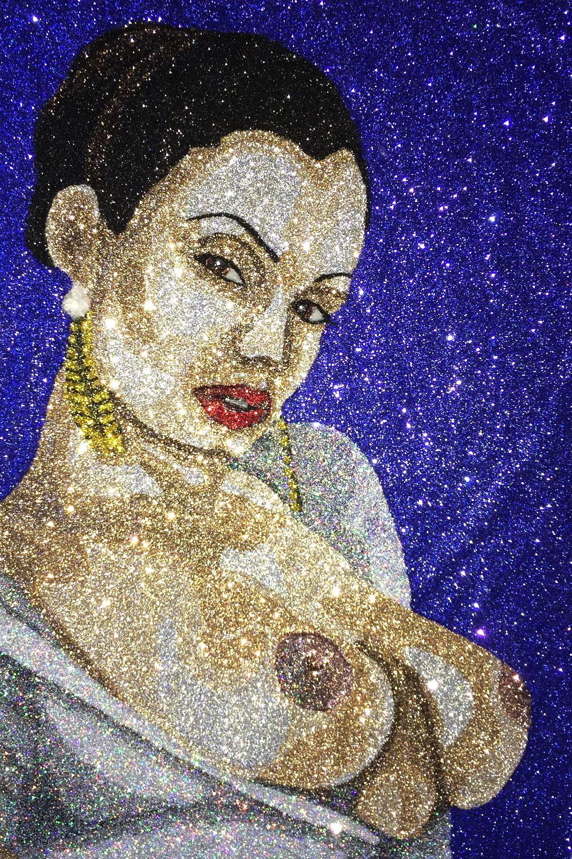Artstation Aria Giovanni Glitter Art