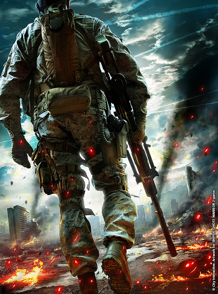 Gregory Pedzinski Sniper Ghost Warrior 2 Artworks