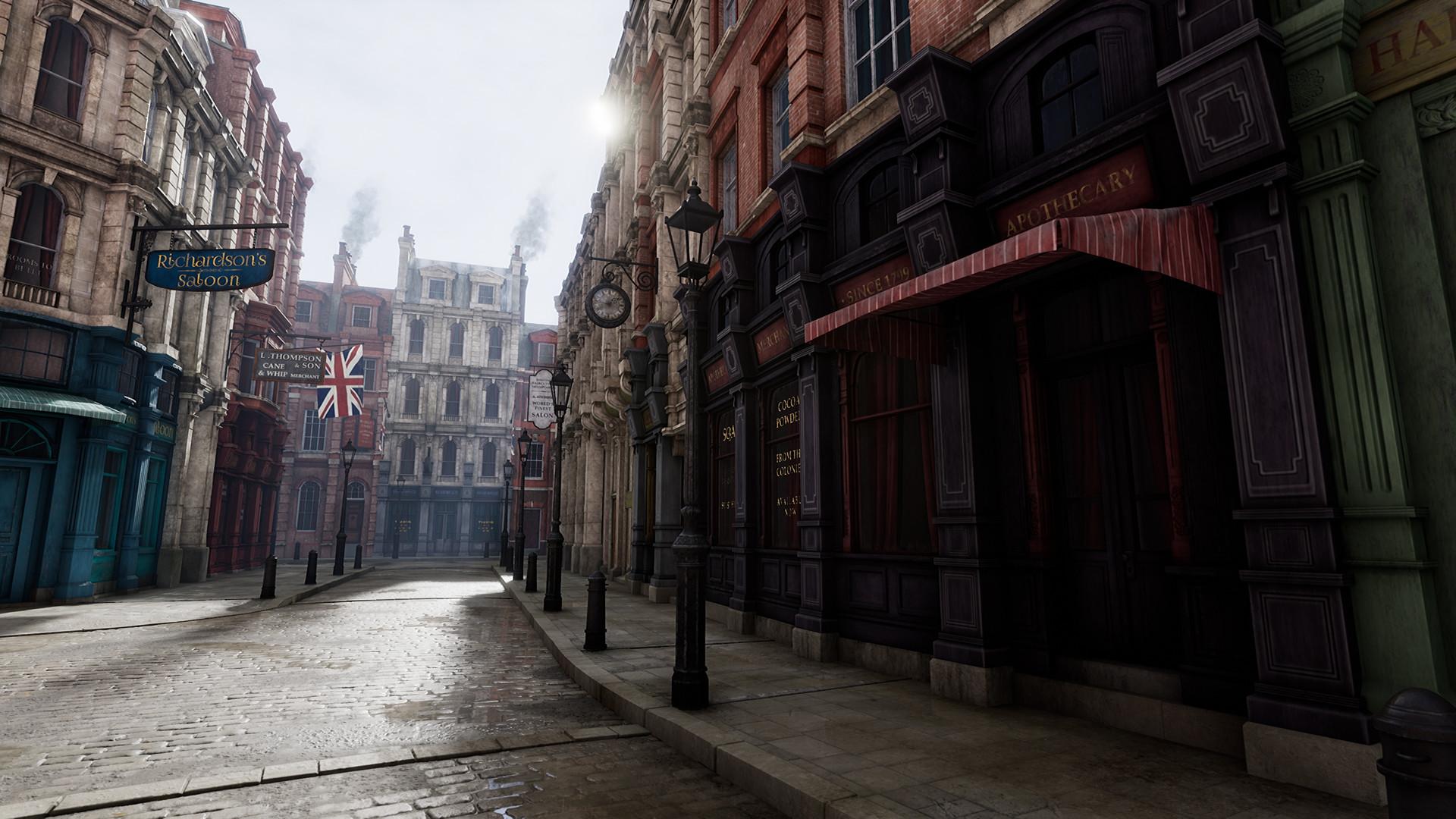 Richard Vinci 3d Environment Artist Victorian Street