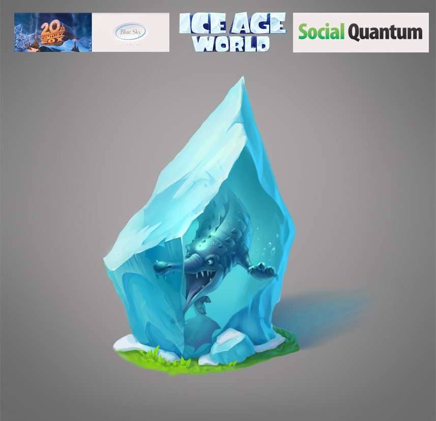 Artstation Ice Age Project Viktoria Pashkova