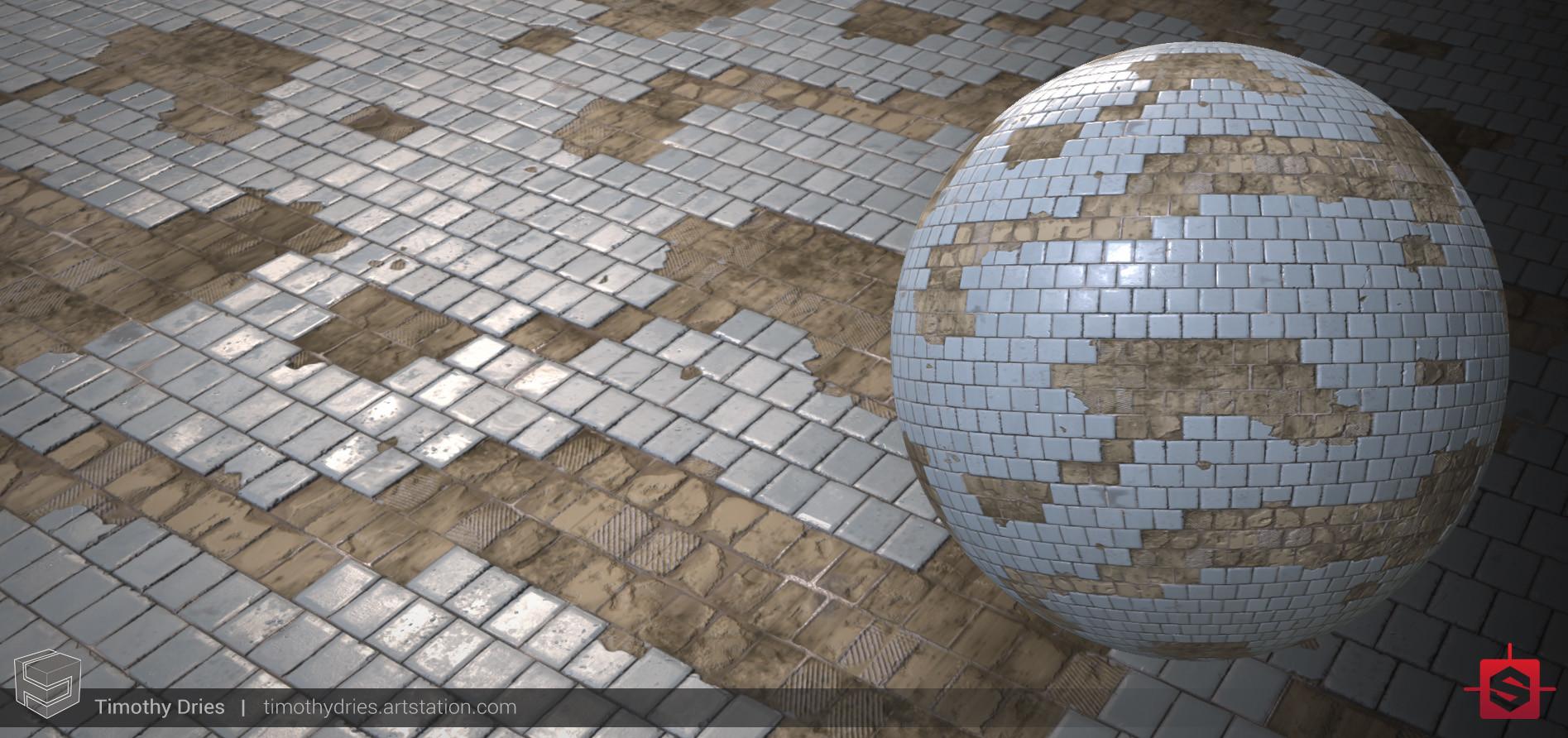 damaged tile generator