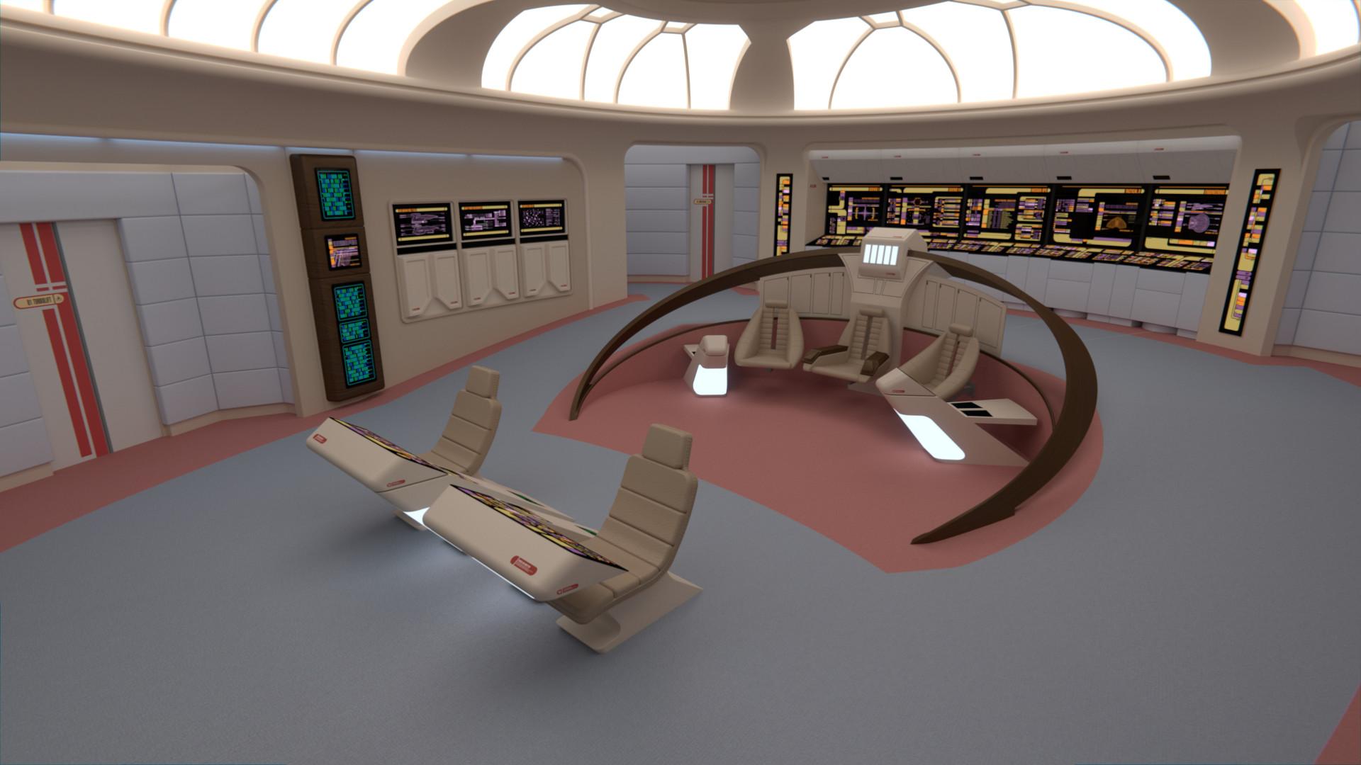 Star Trek Ship 3d Meshes