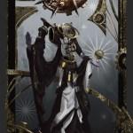 Artstation Wheel Of Fortune Tarot Card Sebastian Horoszko