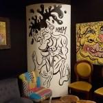 Adam Klouda Coffeesnorter Wall Painting For Bavard Cafe