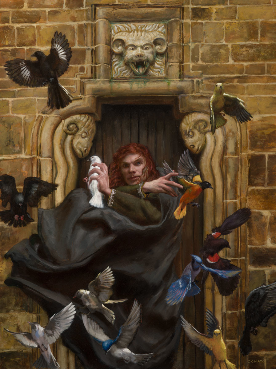 Artstation Kvothe The Name Of Things Donato Giancola