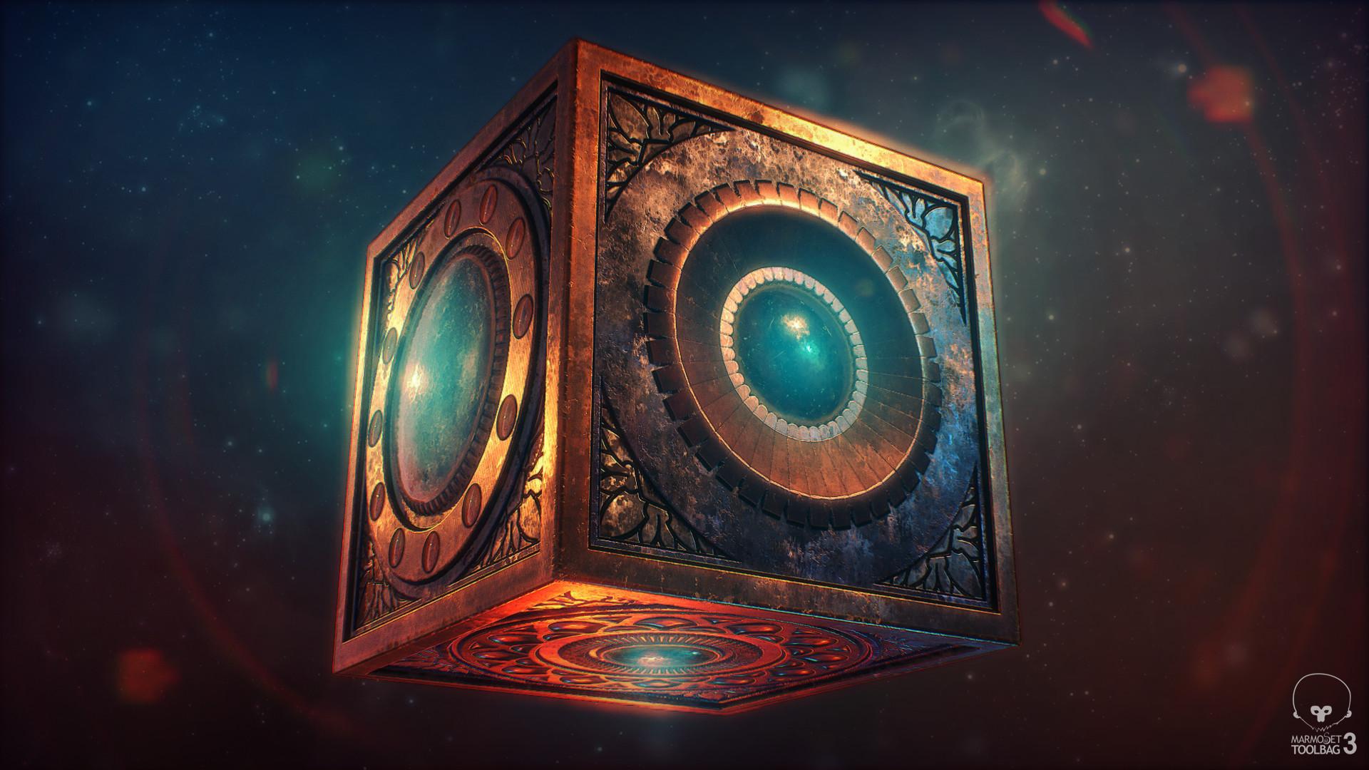 ArtStation New Gods Mother Box Monica Espinoza