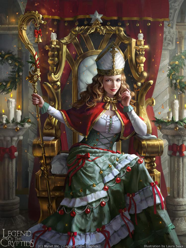 ArtStation Legend Of The Cryptids Yule Queen Lalanoel