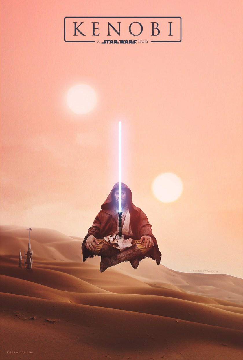 ArtStation - Kenobi: A Star Wars Story Movie Poster, Tyler Wetta