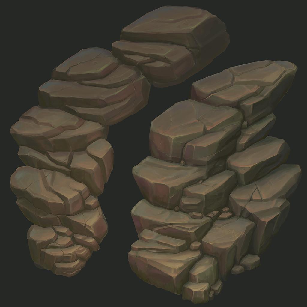 Rock texture sheet