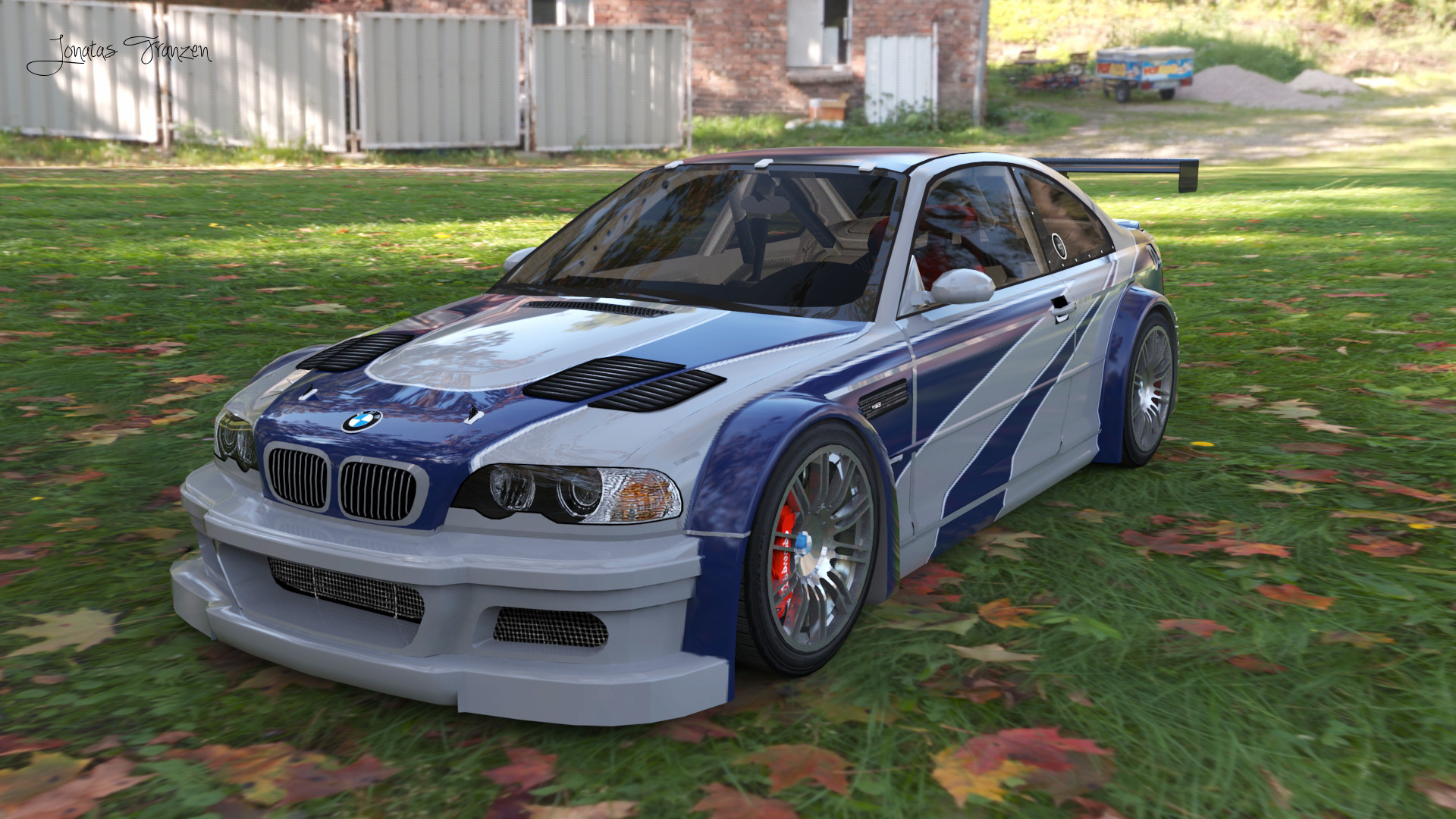 Wanted Gtr 2005 Bmw Nfs Most M3