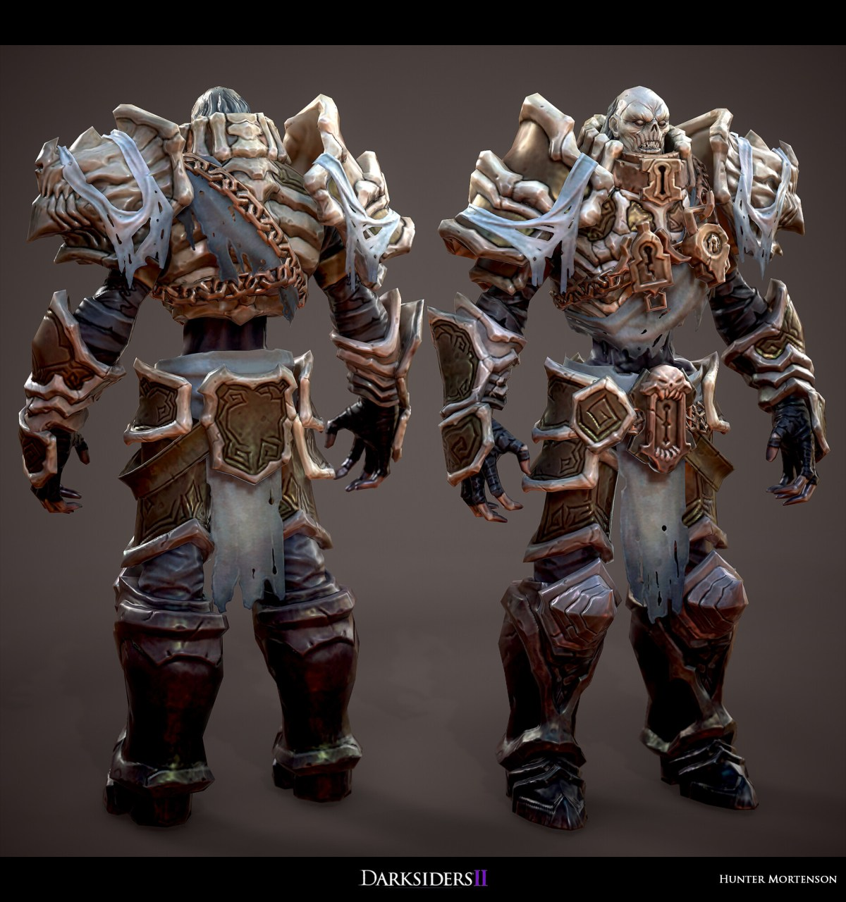 Marmoset render with low res textures