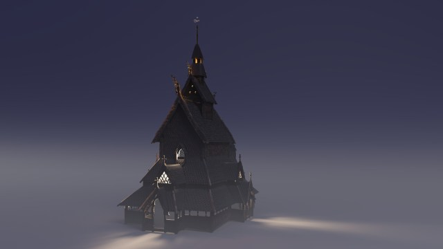 Etienne argaud church renderscene
