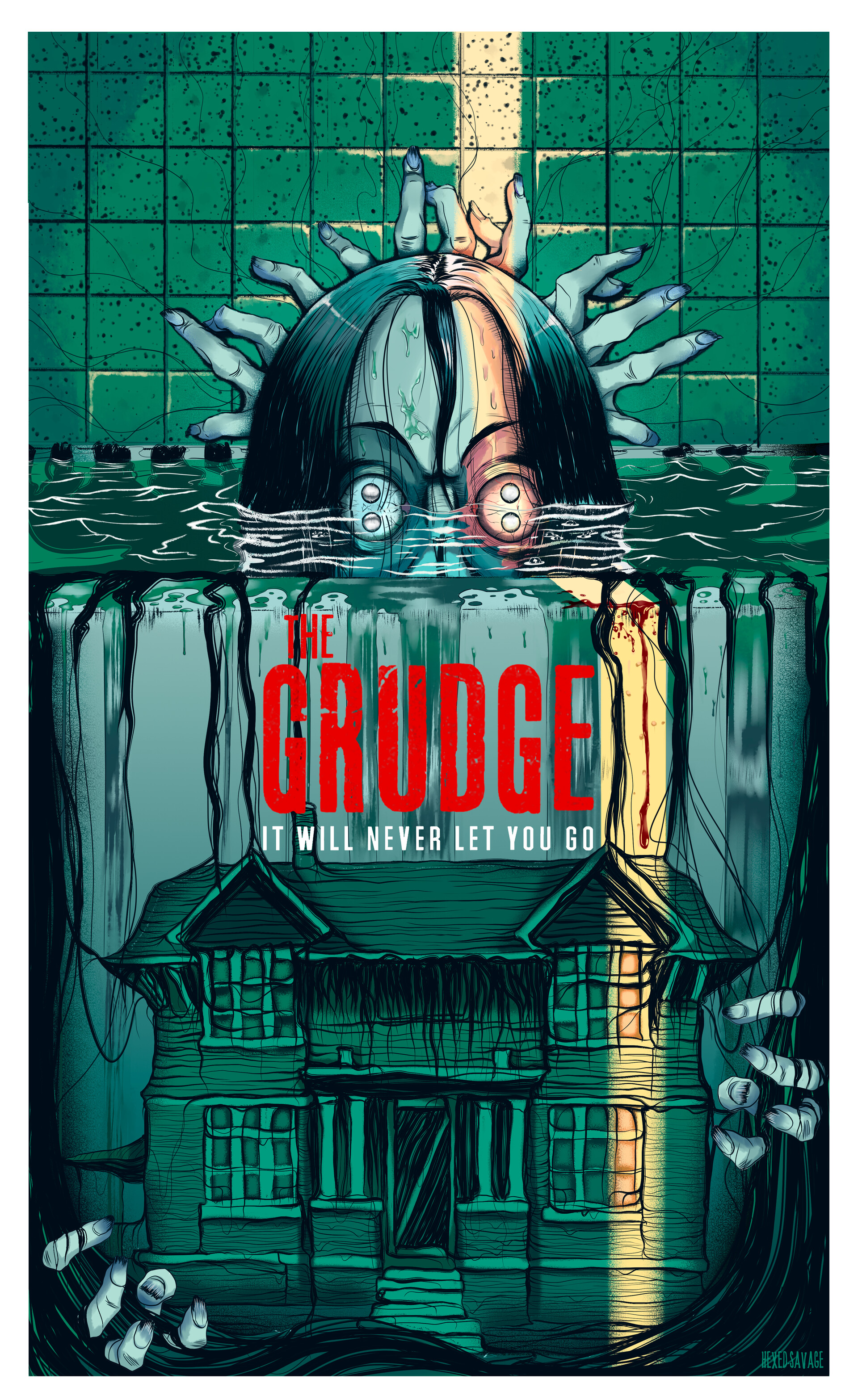 ivan pineda the grudge poster