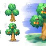 Artstation Perfect Fruit Trees Animal Crossing Fan Art Jason Chen
