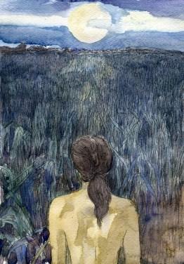 ArtStation - corn moon, Tomasz Górecki