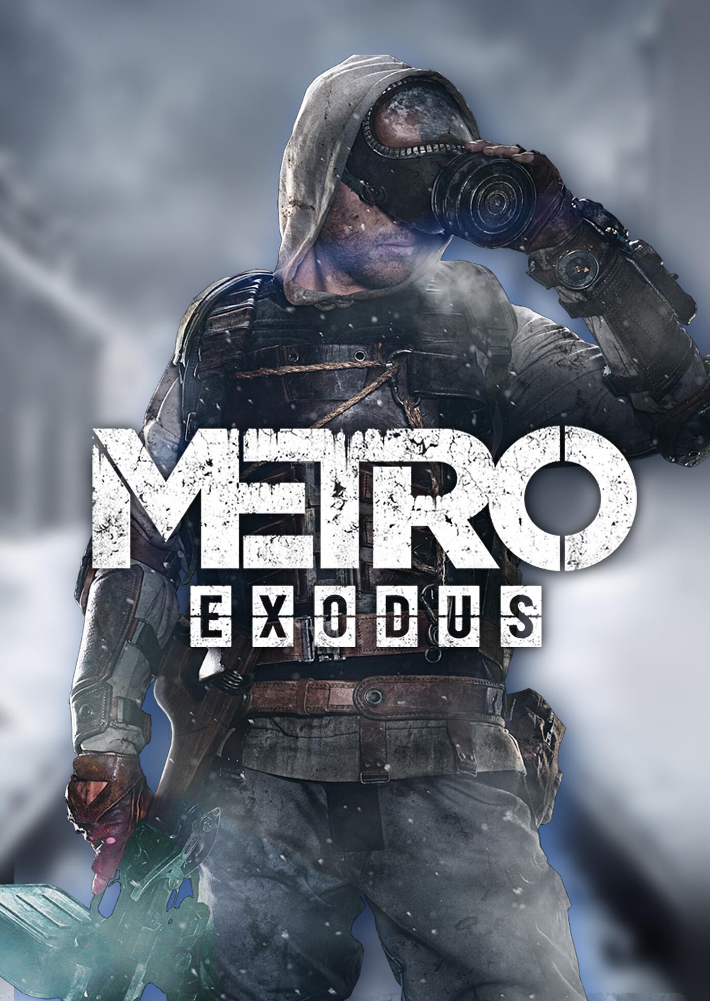 metro exodus fan art poster