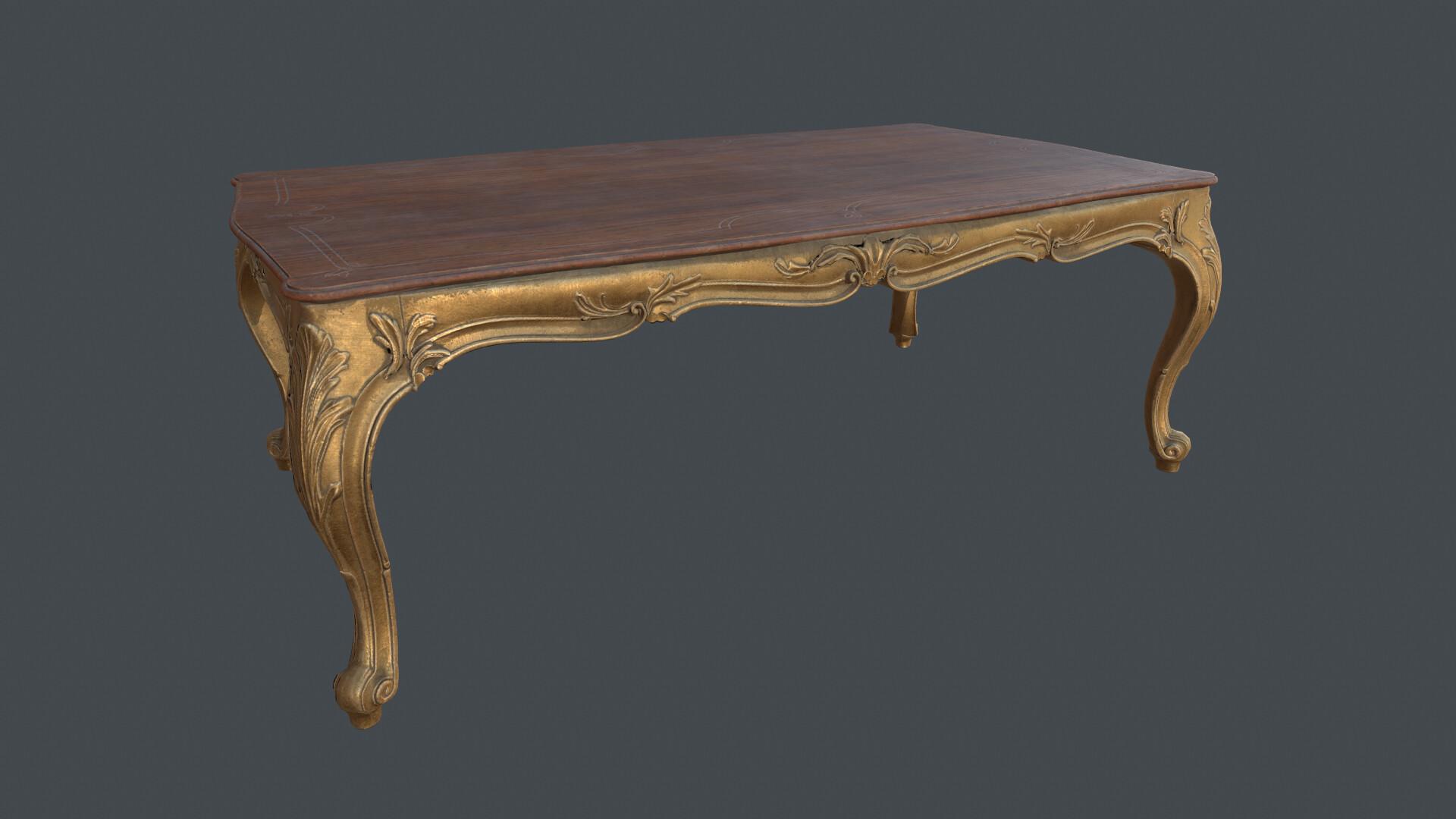 anton yurevich classic coffee table