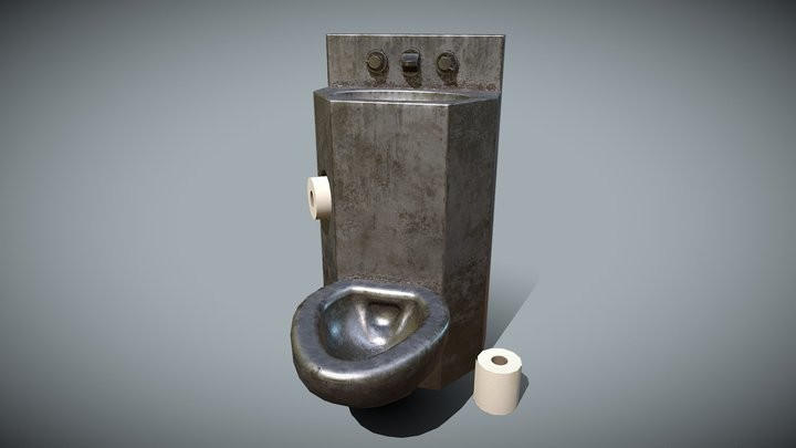 prison toilet sink for jail cell asset