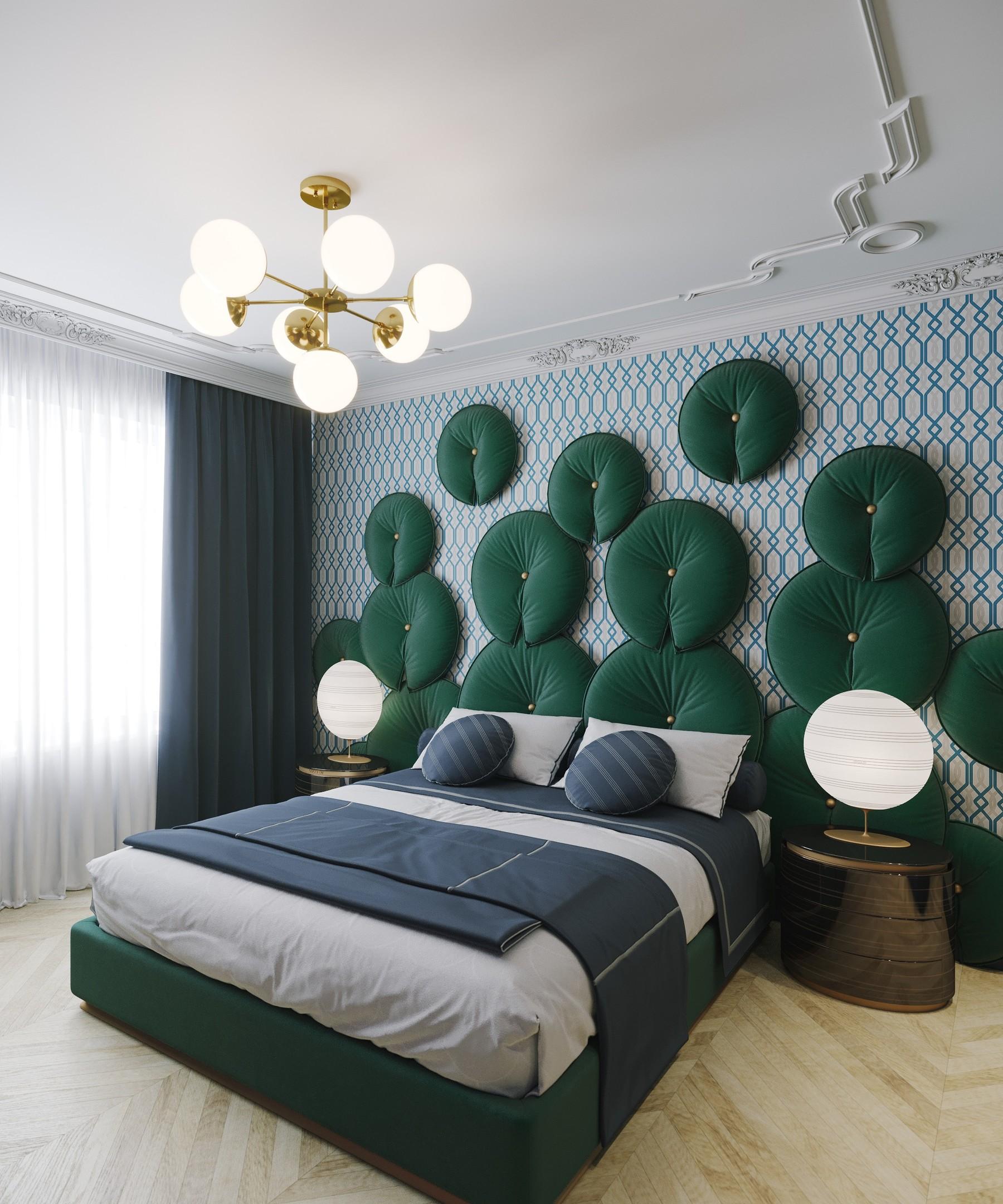 Interior Art Deco Bedroom 01