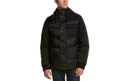 06c91a2c6b6a2 Lyst Victorinox Swiss Army Quilted Down Jacket in Black for Men