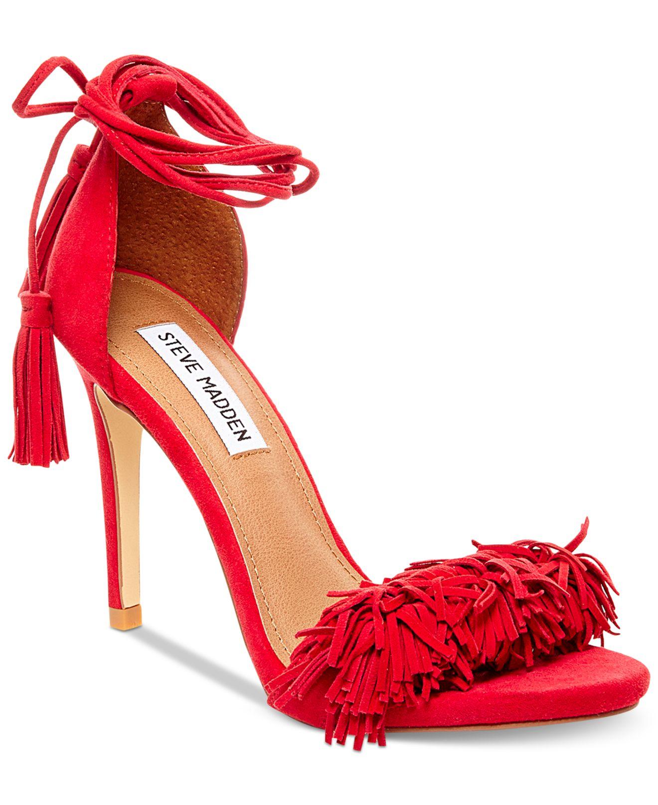 Jessica Flats Red Simpson