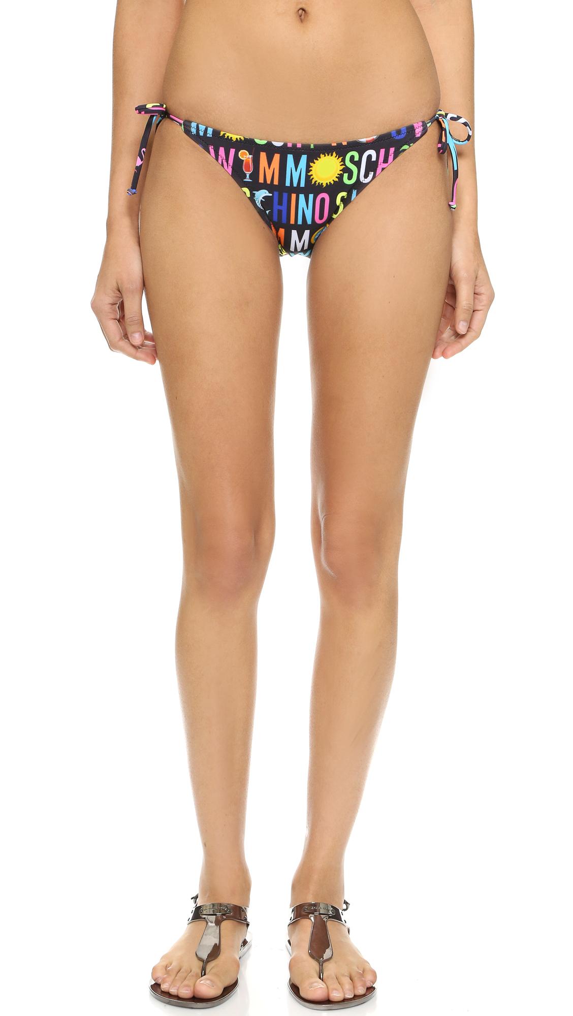 Moschino Summer Bikini Bottoms Lyst