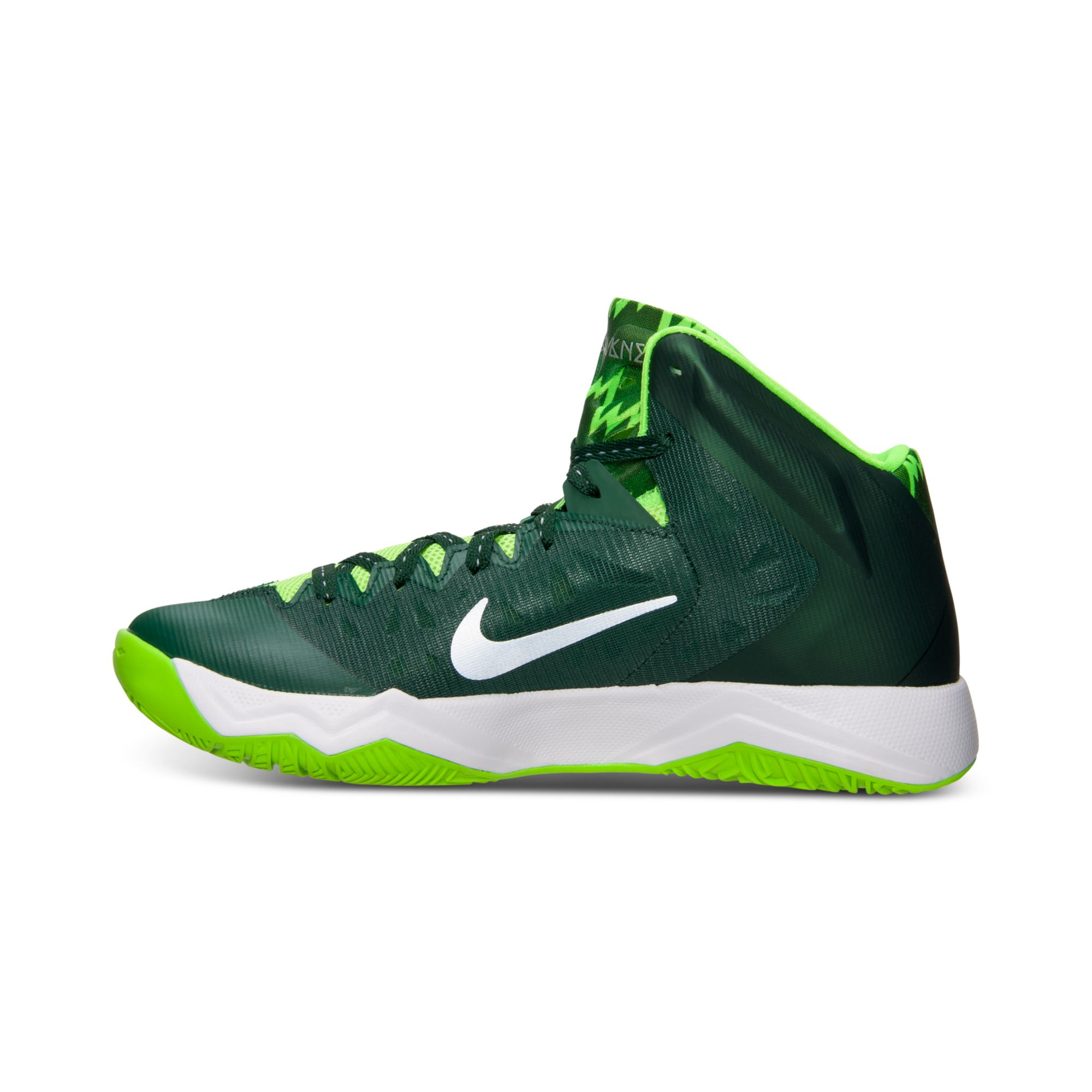 af8f56f5be27 Hyper Shoes Green Lime Nike Basketball Quickness