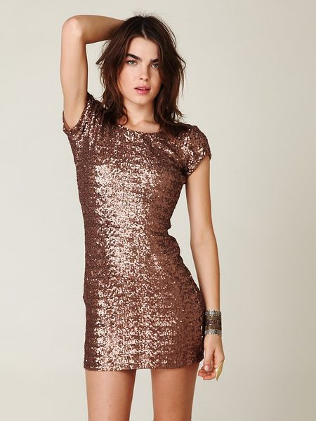 Free People Sequin Dress