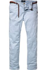 Scotch & Soda Classic Slim Fit Chino with Belt