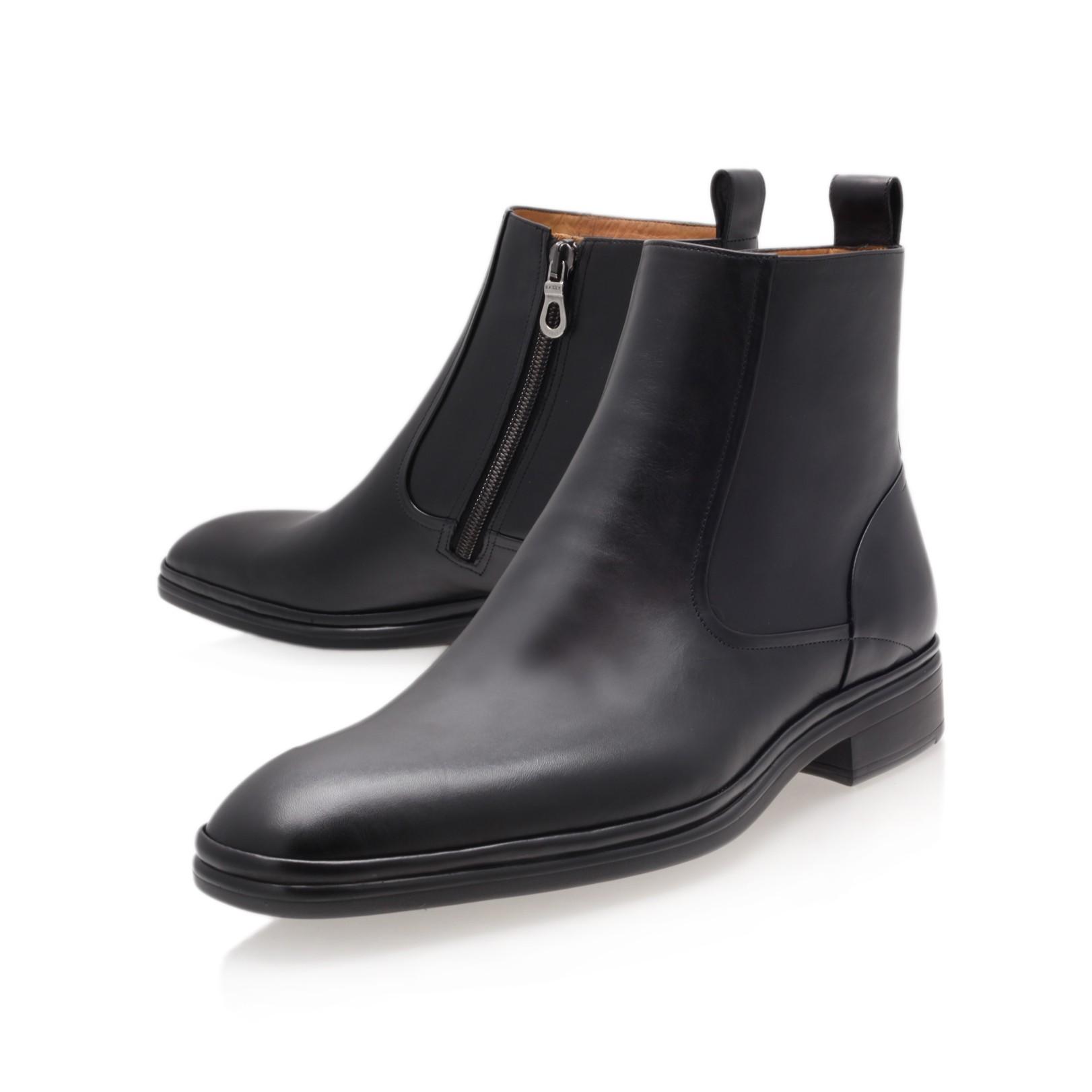 Bally Newsome Rs Zip Chelsea In Black For Men