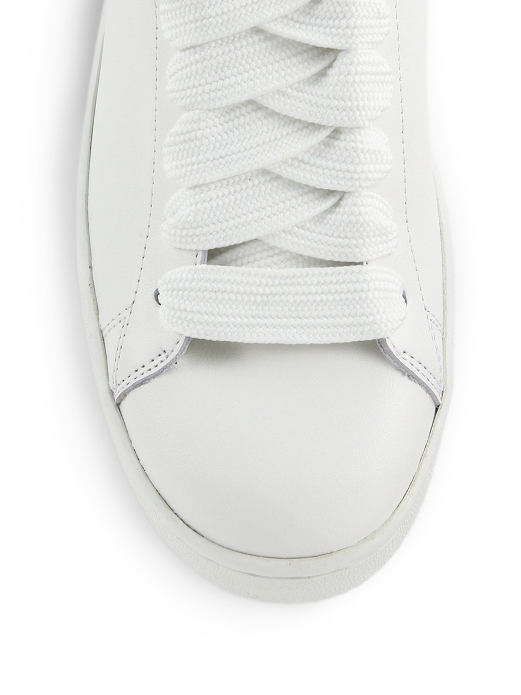 Coach Leather Sneakers In White For Men Lyst