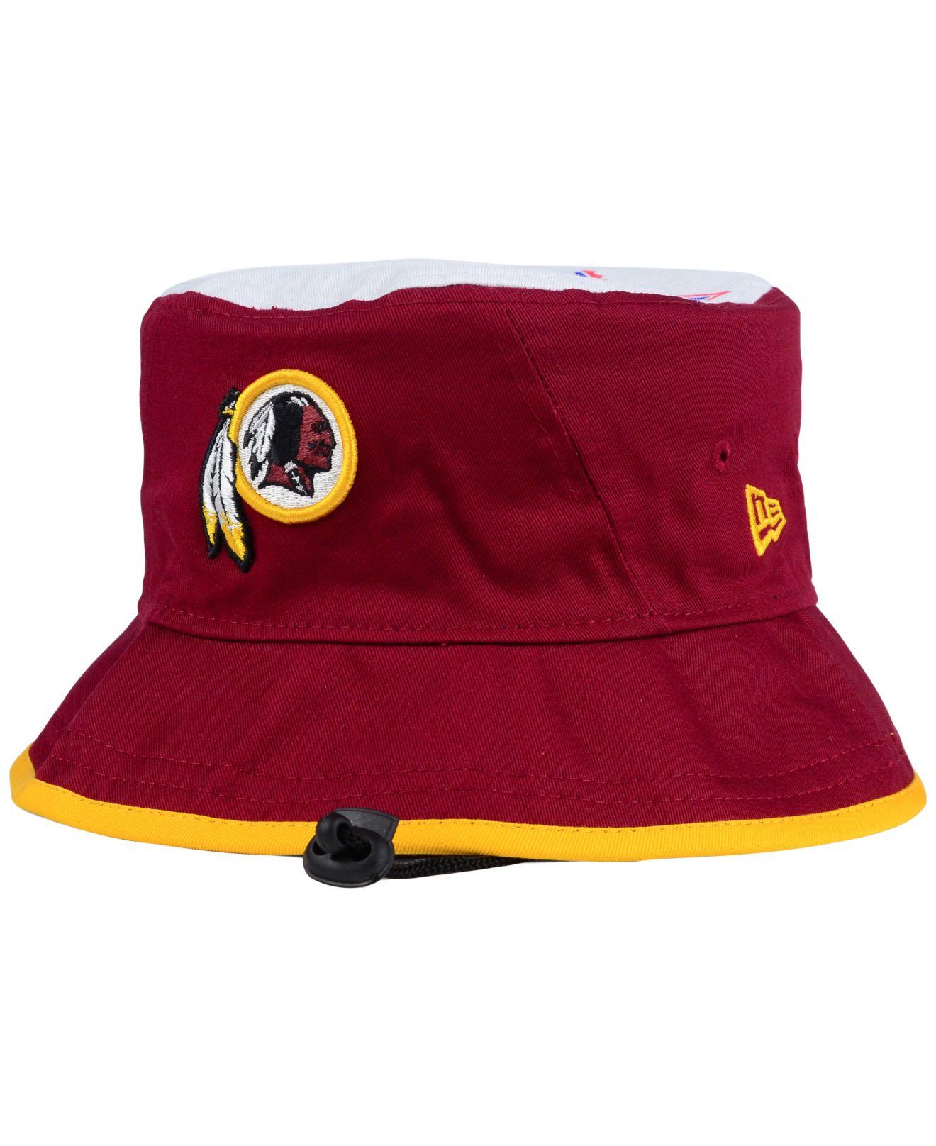 556862aa637 ... official redskins nfl bucket hats d654d 0b314