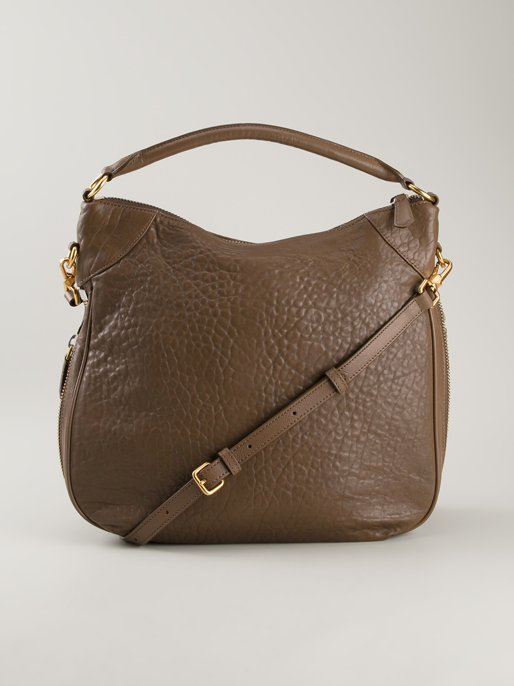 Lyst Marc By Marc Jacobs Washed Up Billy Hobo Bag In Brown