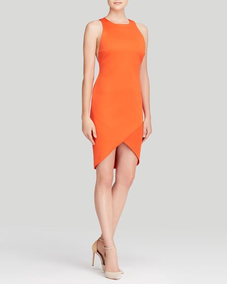 Bec & Bridge Orange Dress - Drifter Sleeveless Racerback