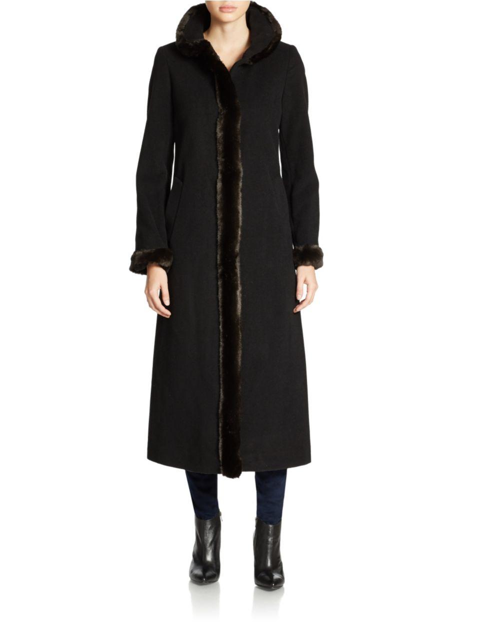 Fur Tracy Collar Dress Ellen Coat