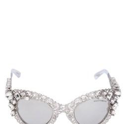 8fa0f7c8d874 Dolce   Gabbana Embellished Cat Eye Sunglasses Cinemas 93