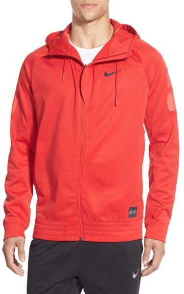 Nike Zip Sweatshirt Red University Arizona