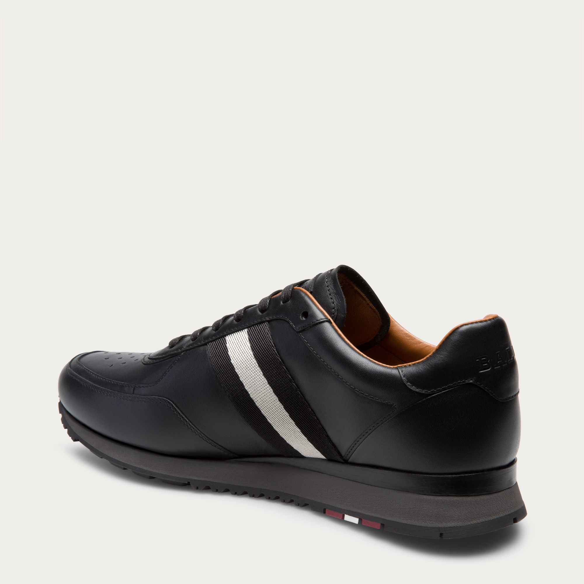 Bally Sneakers Shoes Man In Black For Men