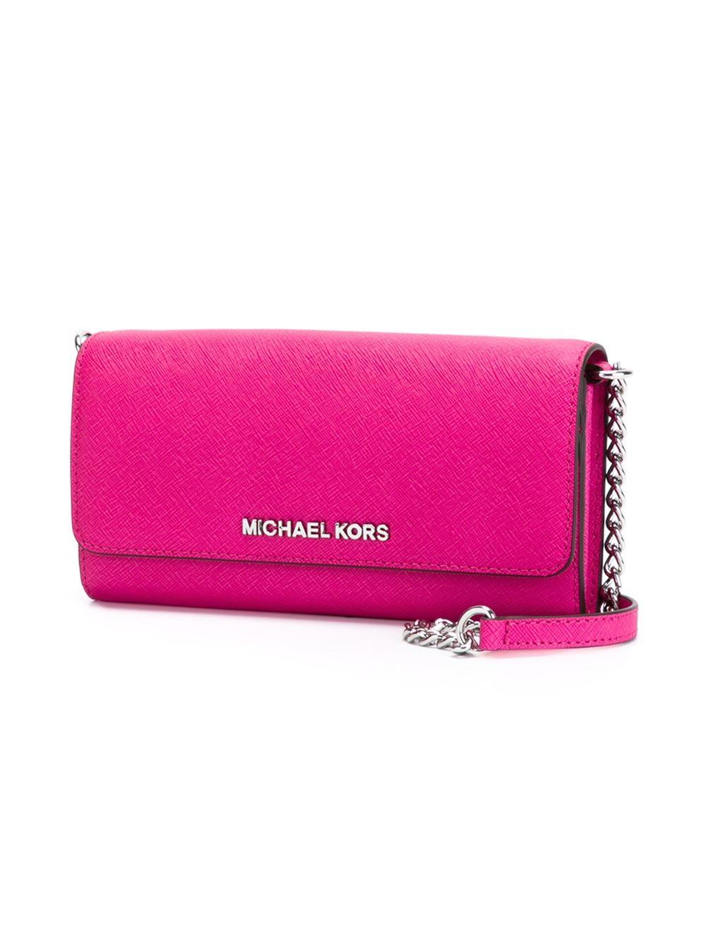 Michael Michael Kors Jet Set Travel Wallet Crossbody Bag