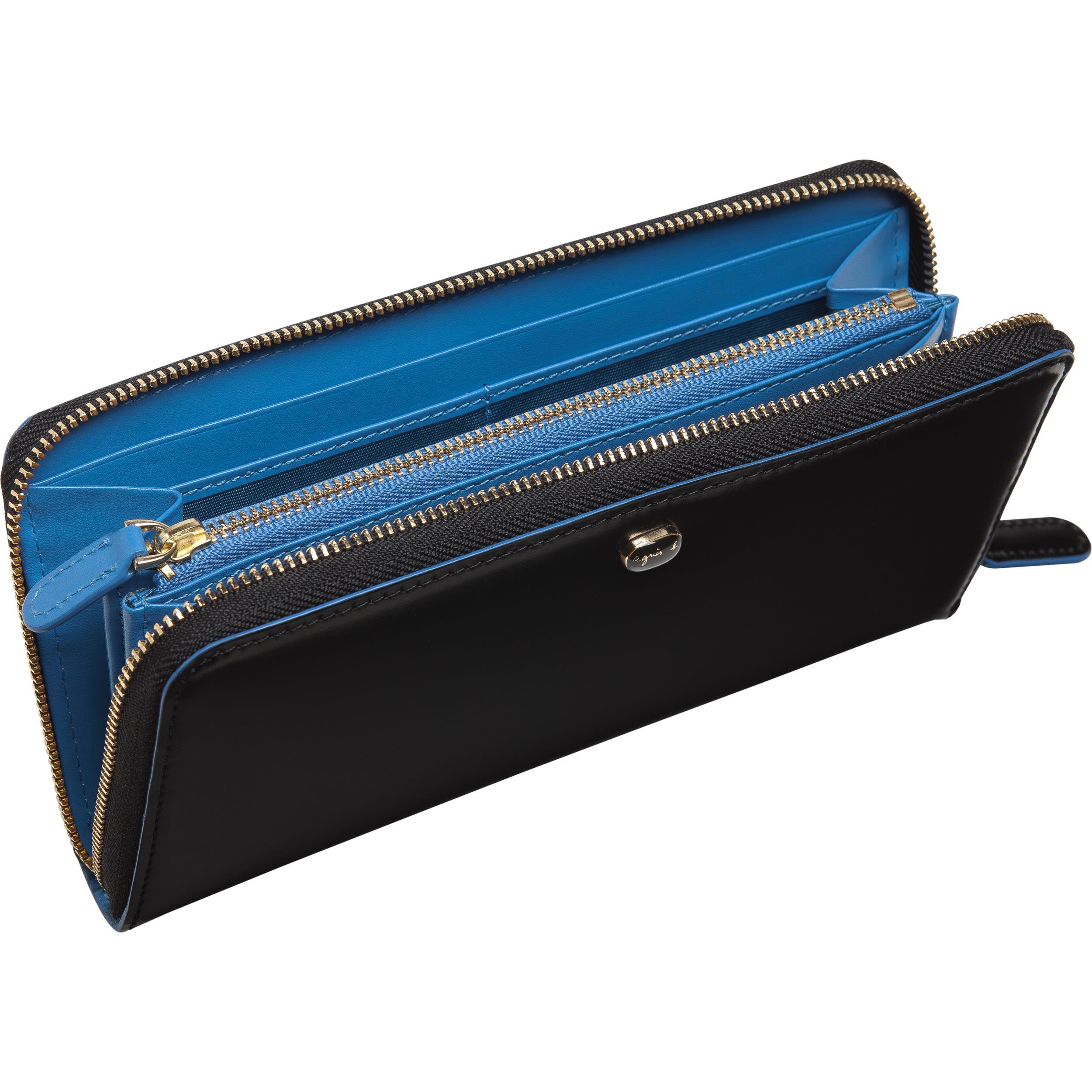 Agns B Black Long Wallet In Black Lyst