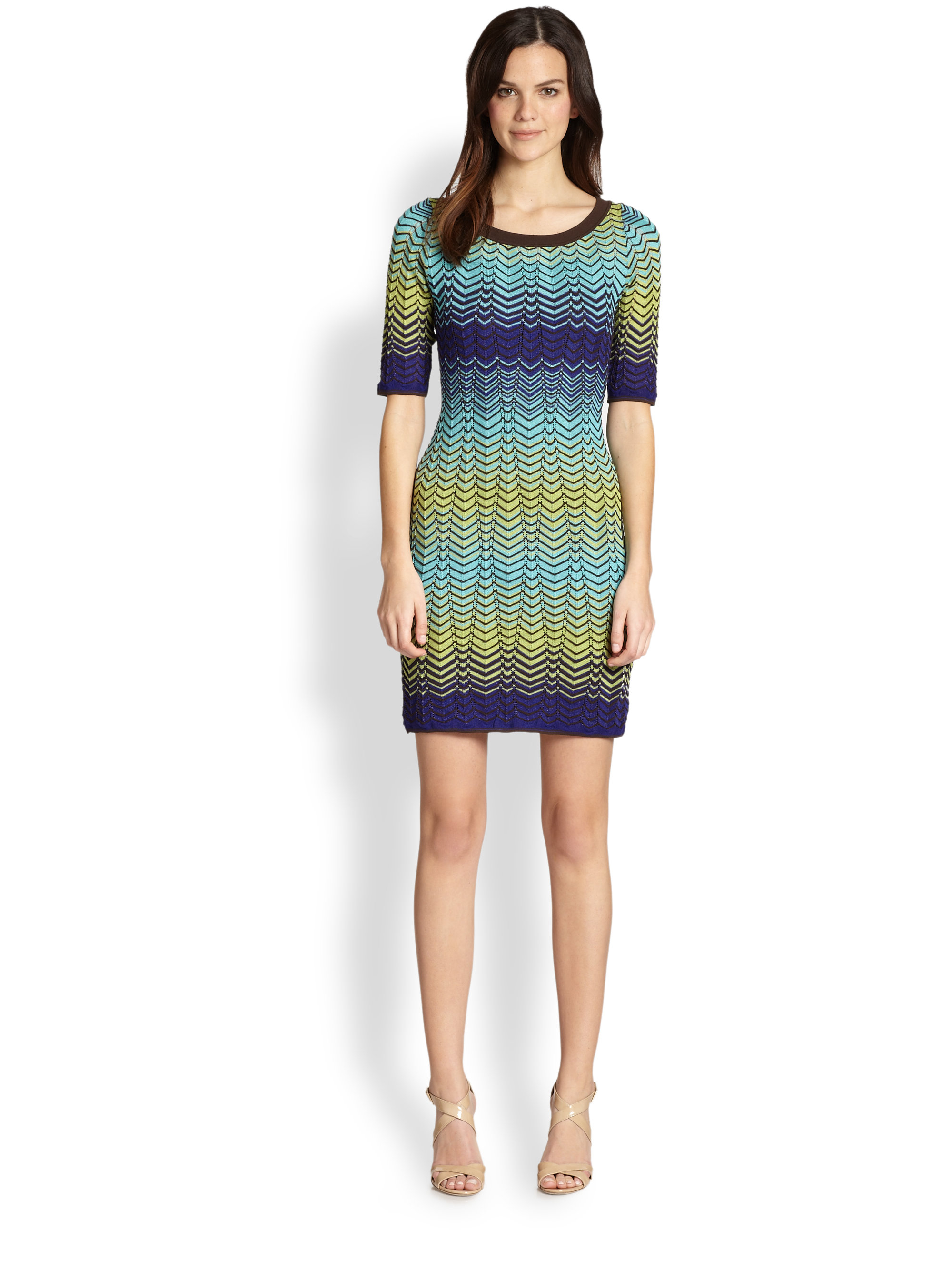 Knit Dresses With Sleeves