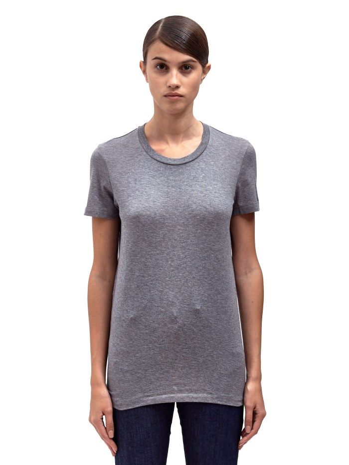 Acne Studios Womens Bliss Classic Crew Neck T-Shirt in