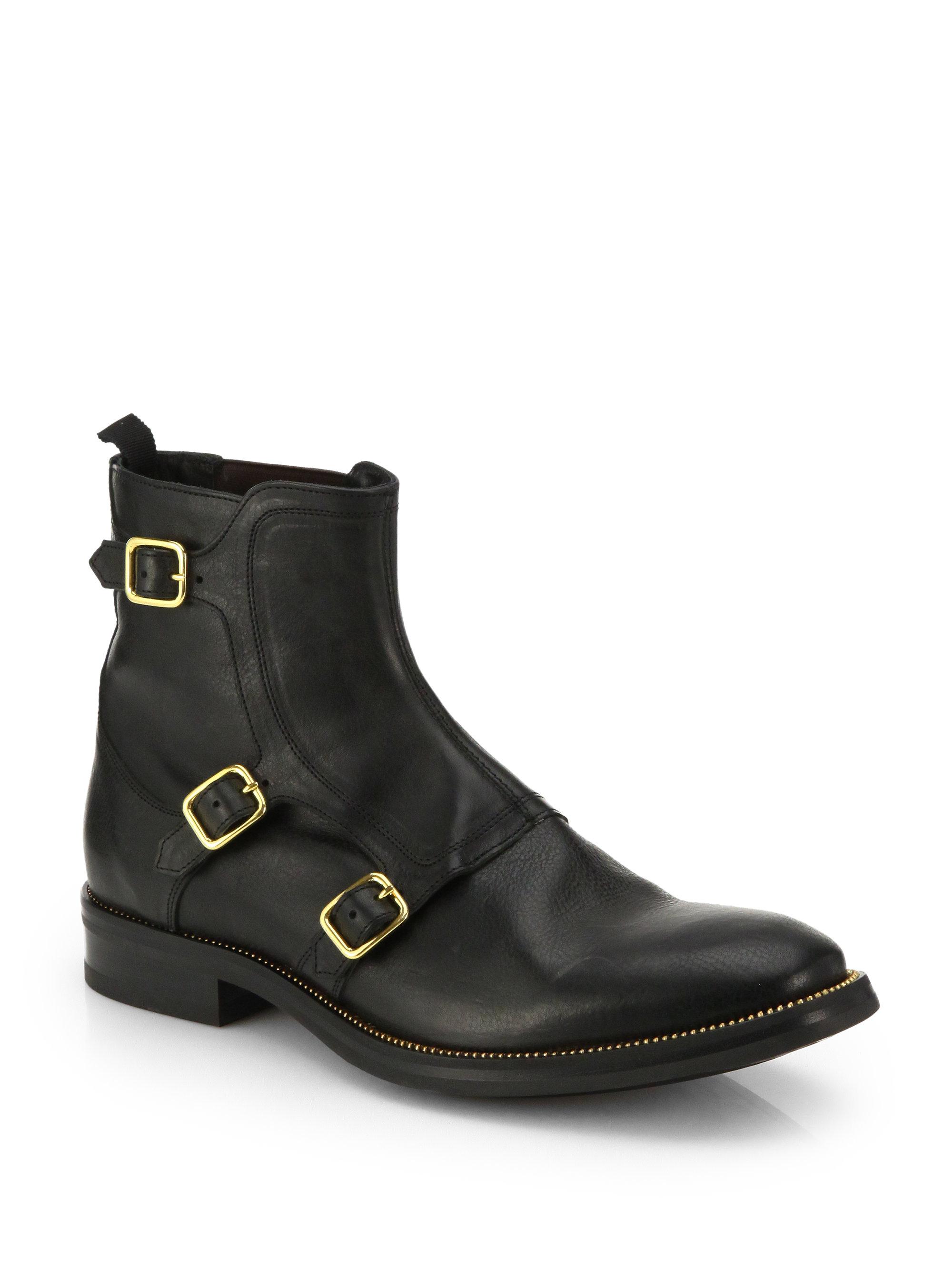 Men Boots Columbia Black