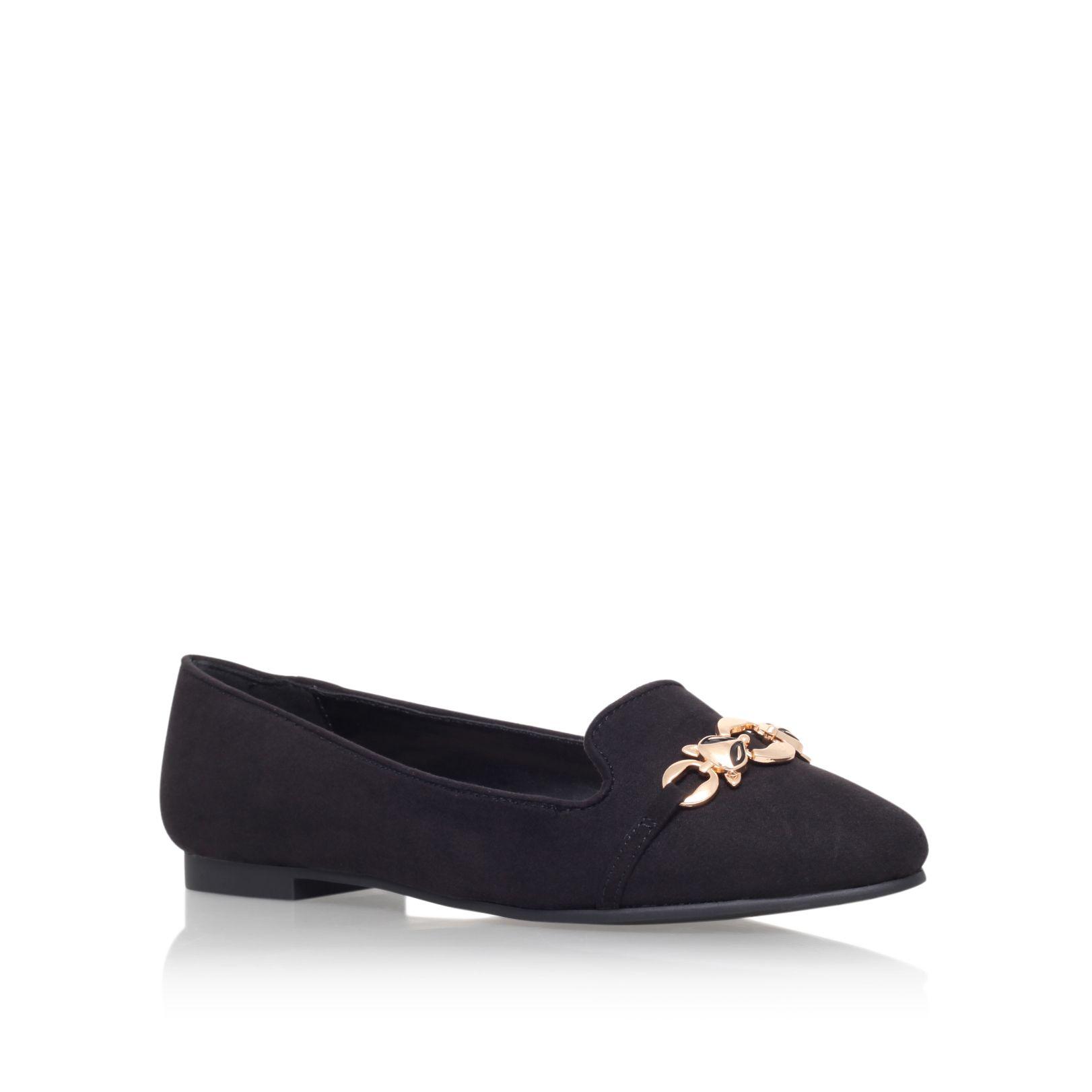 Carvela Kurt Geiger Milo Flat Slip On Shoes In Black Lyst