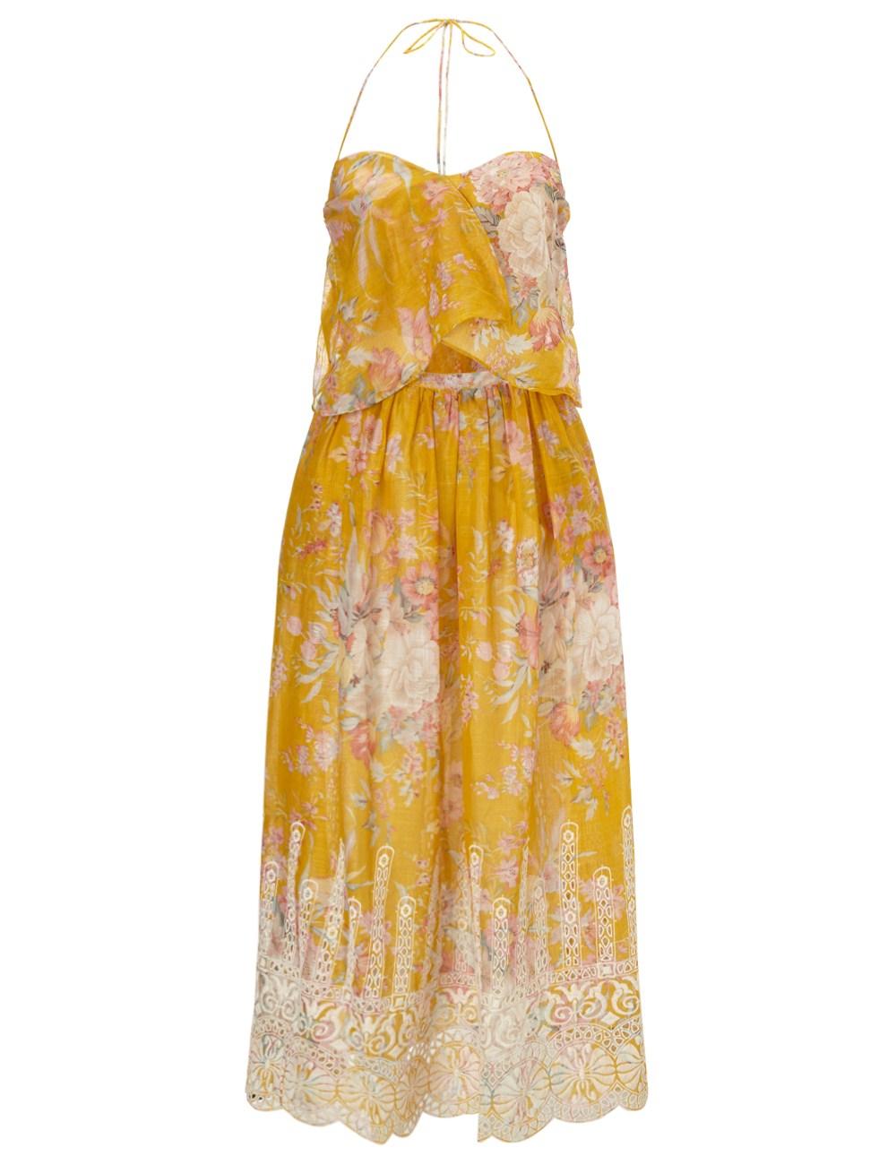 Zimmerman Yellow Floral Dress