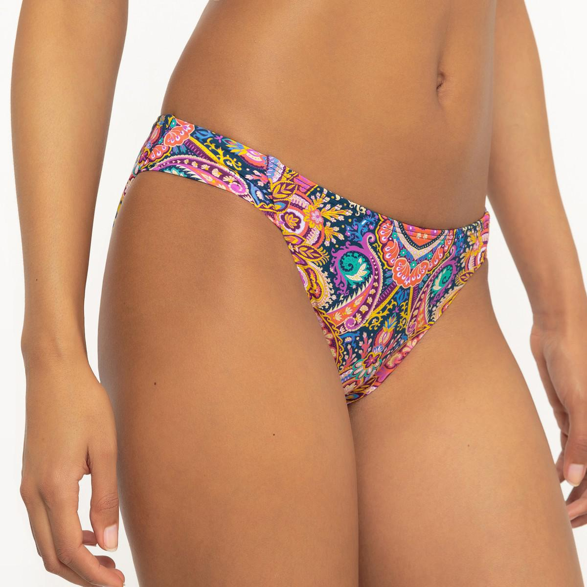 La Redoute Printed Bikini Bottoms In Blue Lyst